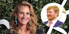 Märchenprinz: Roberts schwärmte für Willem-Alexander