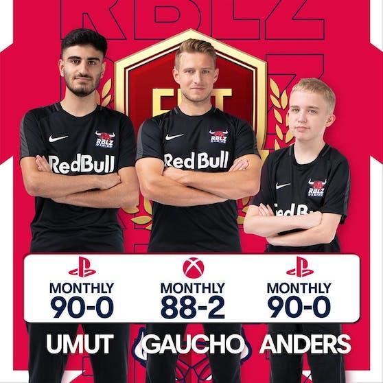 """Anders Vejrgang (rechts) ist das Talent in """"Fifa 21"""" und schlägt im Moment alle andern. Unter Vertrag steht er bei RB Leipzig."""