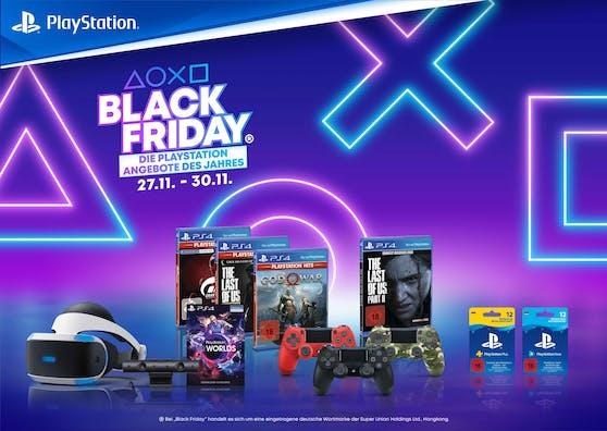 Tolle Sonderangebote von PlayStation während des Black Friday.