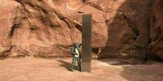 Neuer mysteriöser Monolith in Rumänien aufgetaucht