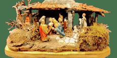 Die Geschichte hinter dieser Weihnachtskrippe erstaunt