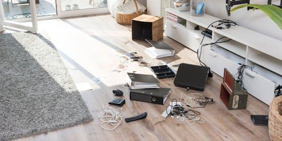 Die Täter brachen in eine Wohnung in Wien-Währing ein.