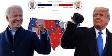 An diesen drei Staaten hängt die ganze US-Wahl