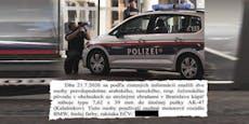 Das Skandal-Dokument zur Terror-Nacht von Wien