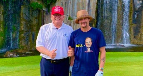 Kid Rock mit US-Präsident Donald Trump.