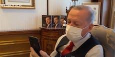 Türkischer Präsident rief bei Wiener Lebensrettern an