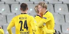 Haaland zerlegt Brügge, Leipzig gelingt PSG-Revanche