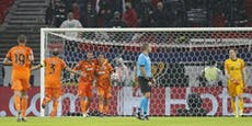 Ferencvaros-Keeper legt Juventus zwei Tore auf