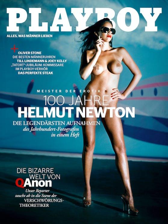 """Lorena Medina aus Mexiko ziert das """"Playboy""""-Cover der Dezember-Ausgabe."""