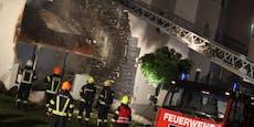 Feuerwehrler (20) legte in Corona-Quarantäne Brände