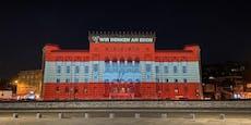 Balkan-Staaten leuchten nach Wien-Terror rot-weiß-rot