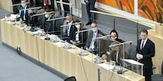 Unterschrift-Panne im Parlament verzögert Budget