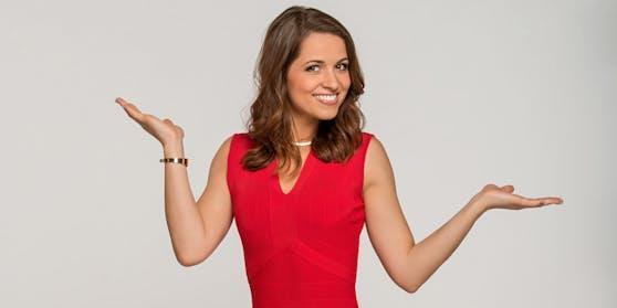 """""""Dancing Stars"""" Moderatorin Kristina Inhof ist froh, dass die Show auch im Lockdown weitergeht."""