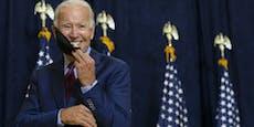 """Biden: """"Amerika ist zurück, Sie können auf uns zählen"""""""