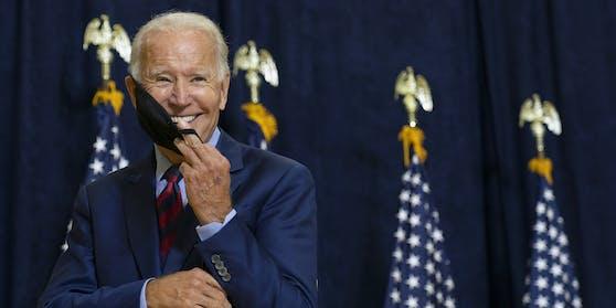 """Gut gelaunt """"von Tag eins an"""": Joe Biden ist neuer US-Präsident"""