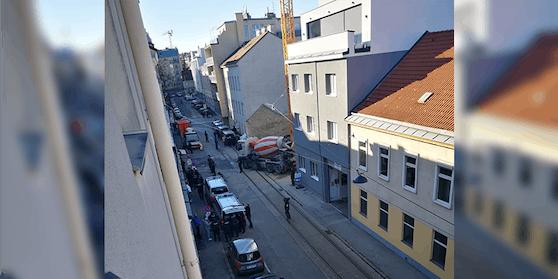 Am Freitag räumte die Wiener Polizei eine Moschee im 12. Bezirk