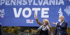 US-Wahl live: Bidens Vorsprung in Pennsylvania wächst