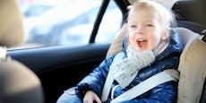 Die Dos and Don'ts bei Kindersitzen im Auto
