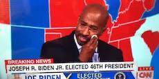 Wegen Trump-Abwahl: TV-Moderator bricht in Tränen aus