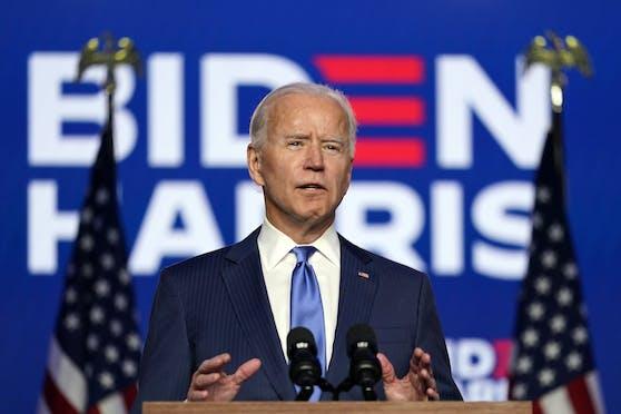 Joe Biden wird wohl der 46. Präsident der USA
