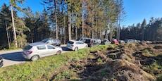 Sonnenhungrige sorgten für Verkehrschaos bei Linz