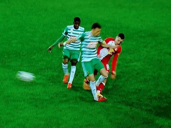 Dejan Ljubicic verletzte sich in dieser Szene