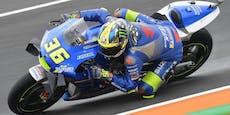 Suzuki feiert Doppelsieg, KTM-Pilot auf dem Stockerl