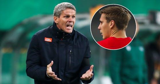 Rapid-Coach Didi Kühbauer, Salzburgs Maxi Wöber