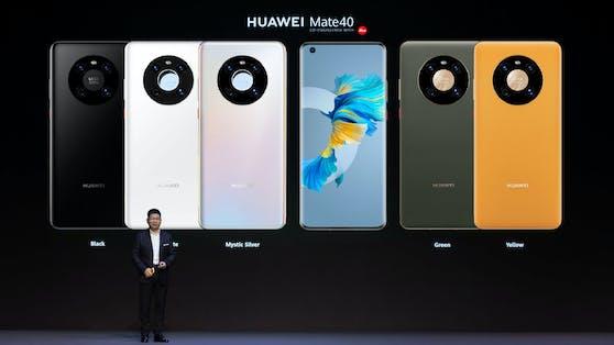 Beim Mate 40 Pro setzt Huawei auf Nachhaltigkeit.