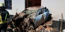 Unfall-Lenker rief Mutter an, fiel dann in Ohnmacht