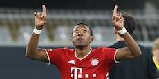 Alaba stellte bei Sieg gegen Dortmund einen Rekord auf