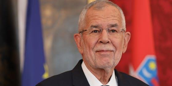 Bundespräsident Alexander Van der Bellen.
