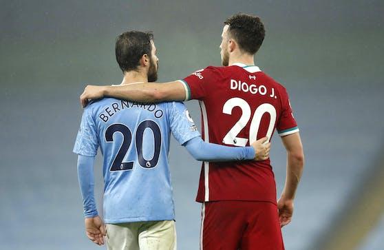 Manchester City gegen Liverpool