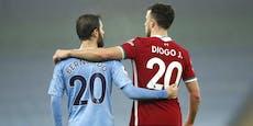 1:1! City verspielt Sieg, Liverpool verpasst Platz 1