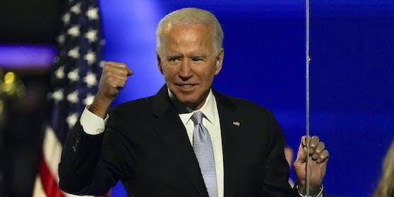 Mit seinen 78 Jahren ist Joe Biden der älteste Präsident zum Zeitpunkt seines Amtsantritts.
