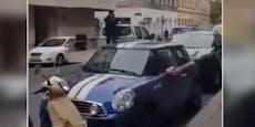 Lautsprecher-Wagen weckt Wiener mit Schüssen und Muezzin