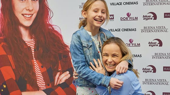 Sängerin Missy May mit ihrer Tochter Marie