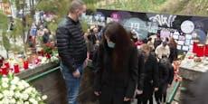 Familie erweist Opfer von Terroranschlag letzte Ehre