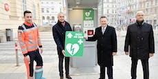 """Aus Telefonzellen werden in Wien """"Lebensretter-Boxen"""""""
