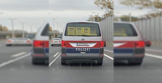Die Polizeibus wurde in Wien gesichtet.