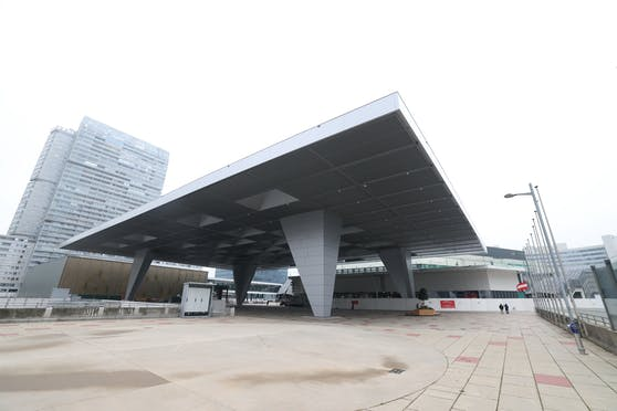 Beim Austria Center Vienna in Wien-Donaustadt soll die dritte Corona-Teststraße entstehen.