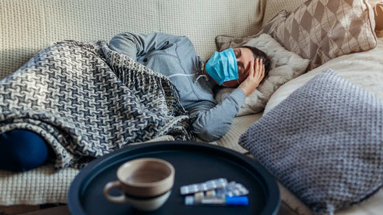 Rund ein Fünftel der Covid-19-Patienten spürt auch nach sechs Monaten noch die Folgen der Erkrankung.