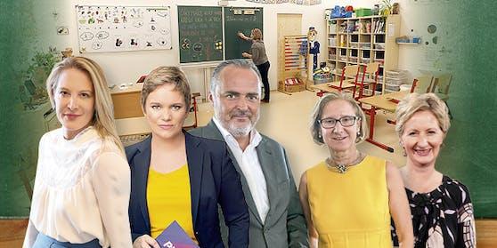 Prominente Österreicher stemmen sich aus unterschiedlichsten Gründen gegen einen neuerlichen Schul-Lockdown.