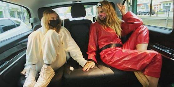 Heidi Klum unterstützt Leni bei ihrer Model-Karriere