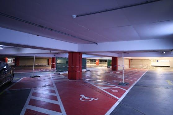 Auch auf den Parkdecks des Austria Center Vienna sollen Corona-Tests durchgeführt werden.