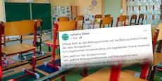 Eltern gehen gegen Online-Unterricht auf die Barrikaden
