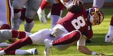 Video: NFL-Star erleidet üble Ekel-Verletzung
