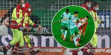 Rapid-Kapitän Ljubicic zittert vor Bänder-Verletzung