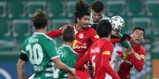 6 (!) Salzburg-Spieler nach Rapid-Hit positiv getestet