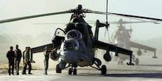 Russischer Militärhelikopter in Armenien abgeschossen